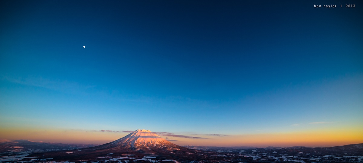 Taken from Niseko village, Japan